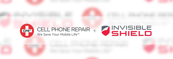invisibleshield partners with cpr cell phone repair image